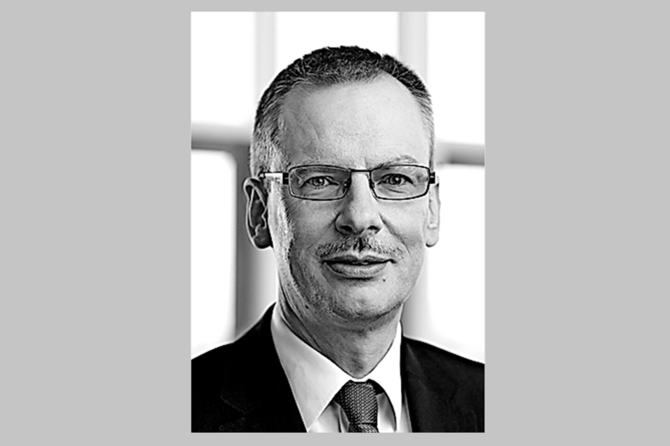 AOK Plus-Vorstandsvorsitzender Rainer Striebel