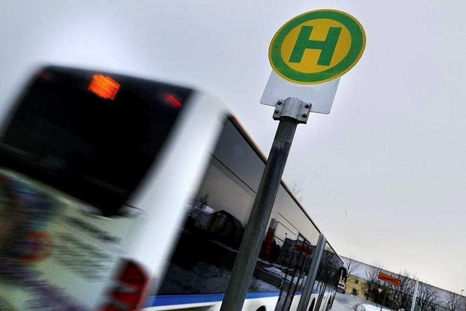 In Schirgiswalde gibt es vorübergehend Veränderungen bei zwei Bushaltestellen.