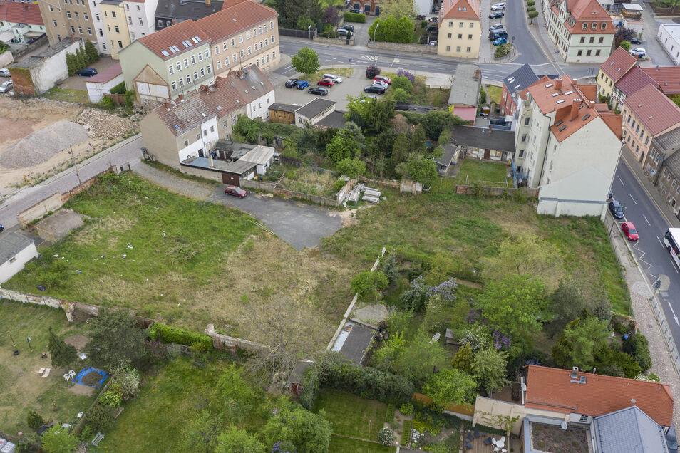 Auf einem Gelände zwischen Poppitzer-, Großenhainer- und Dr.-Külz-Straße wollte die DP einen Markt ansiedeln. Aus ihrer Sicht fehlt dort noch ein Nahversorger.