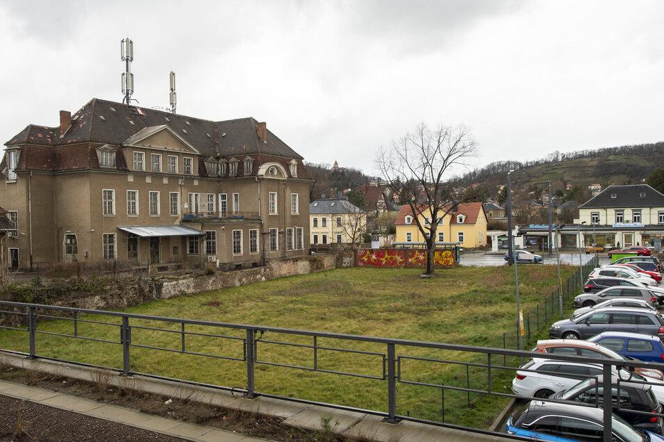 Im November 2018 wurde der alte Fischladen abgerissen. Auf dem Areal will Rossmann neu bauen.