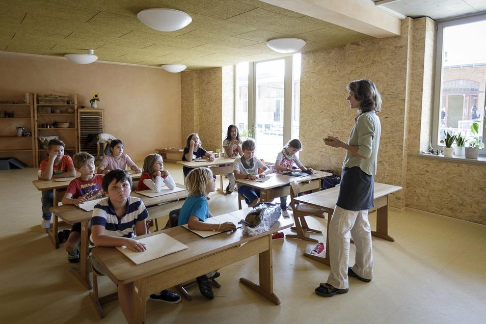 Seit Kurzem am neuen Standort, hätte sich auch die Görlitzer Waldorfschule Interessierten gern persönlich vorgestellt.