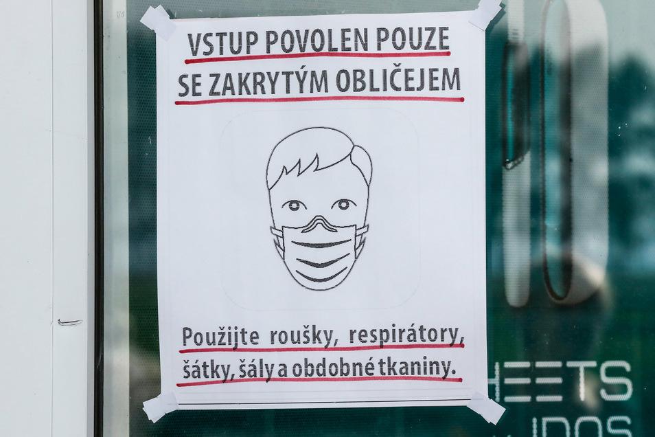 In Tschechien gilt Maskenpflicht.