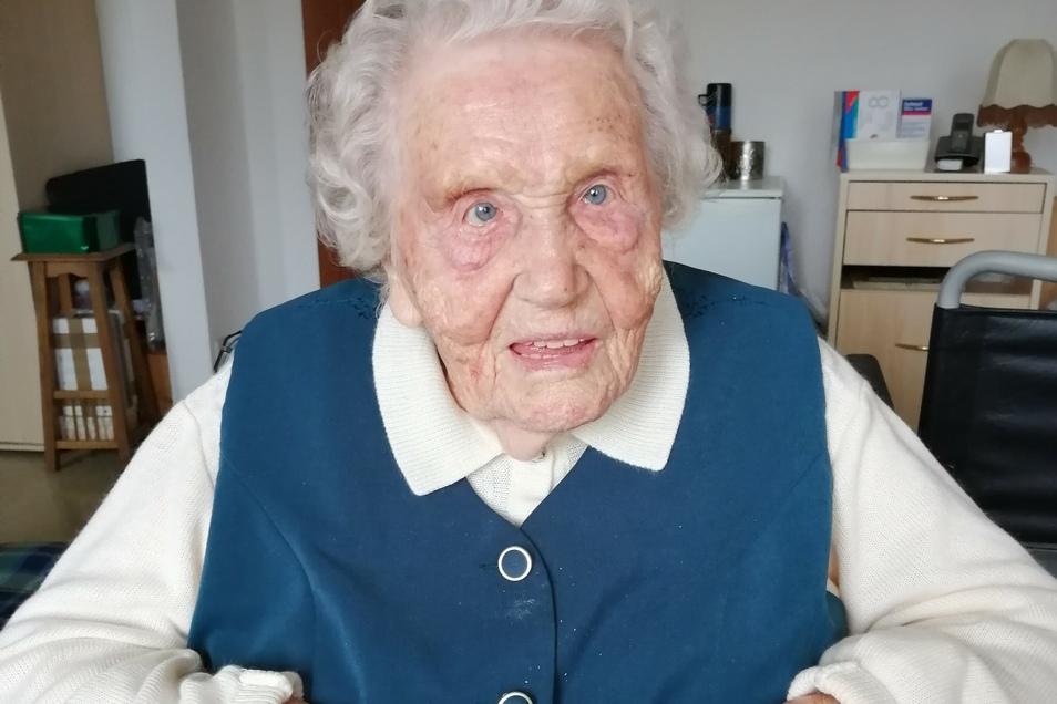 Sylvia Riedel wird diesen Sonntag 100.