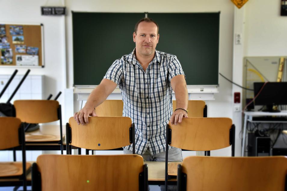 Im kommenden Halbjahr ein gefragter Mann? Schulpraxisberater Sebastian Sende.