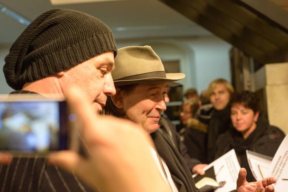 Aus diesem Grund ist sein kurzer Auftritt bei der Ausstellung für viele Fans etwas Besonders.