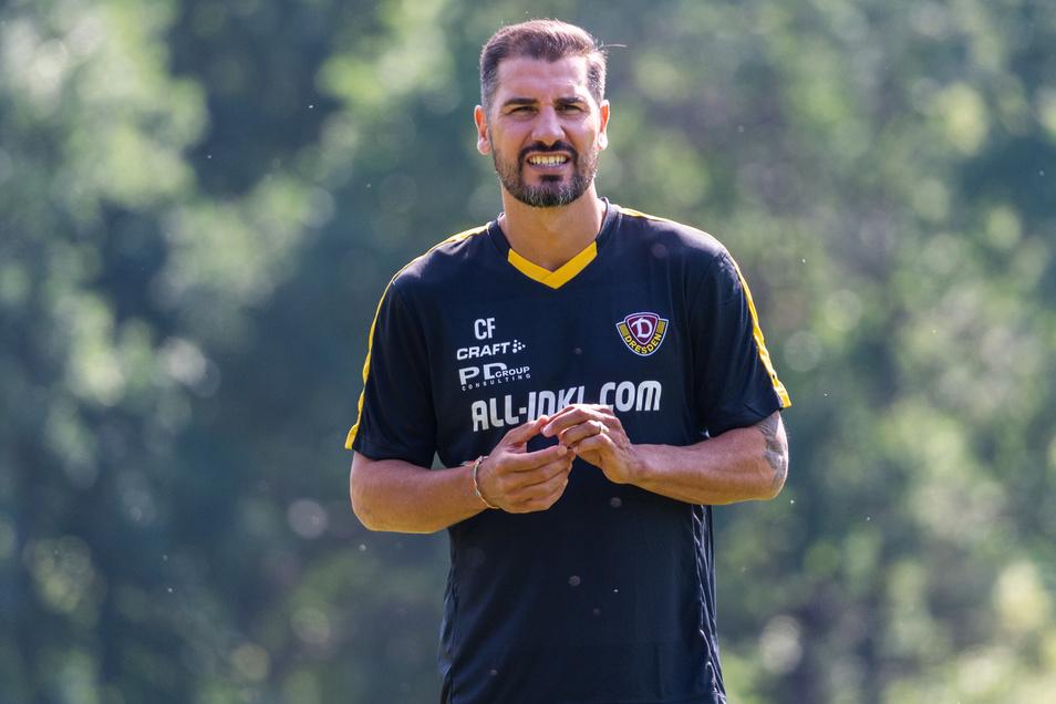 Dynamo-Trainer Cristian Fiel ändert diesmal seine Strategie.