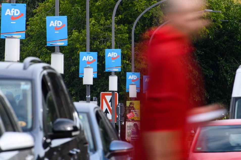 Die AfD holte am bei der Bundestagswahl 2021 24,6 Prozent der Stimmen in Sachsen.