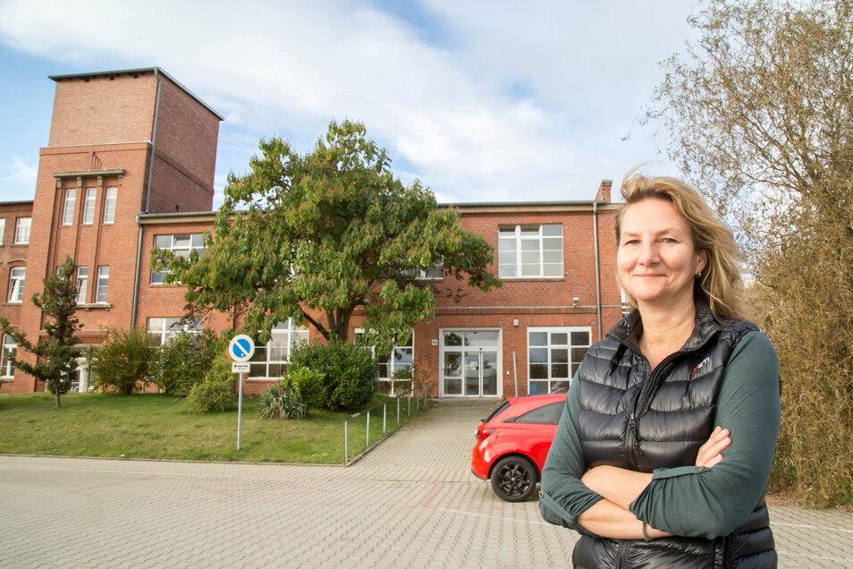 Die Firma Yeti hat in Görlitz ihr neues Domizil in der Rauschwalder Straße bezogen. Cornelia Buhse ist hier Betriebsstellenleiterin.