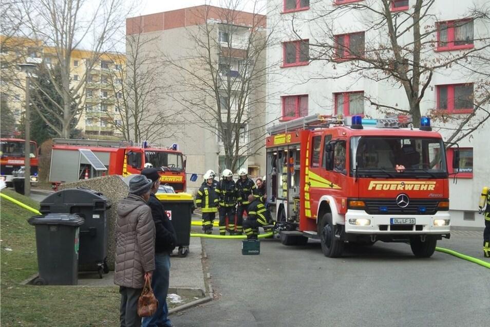 Insgesamt waren 20 Feuerwehrleute im Einsatz.