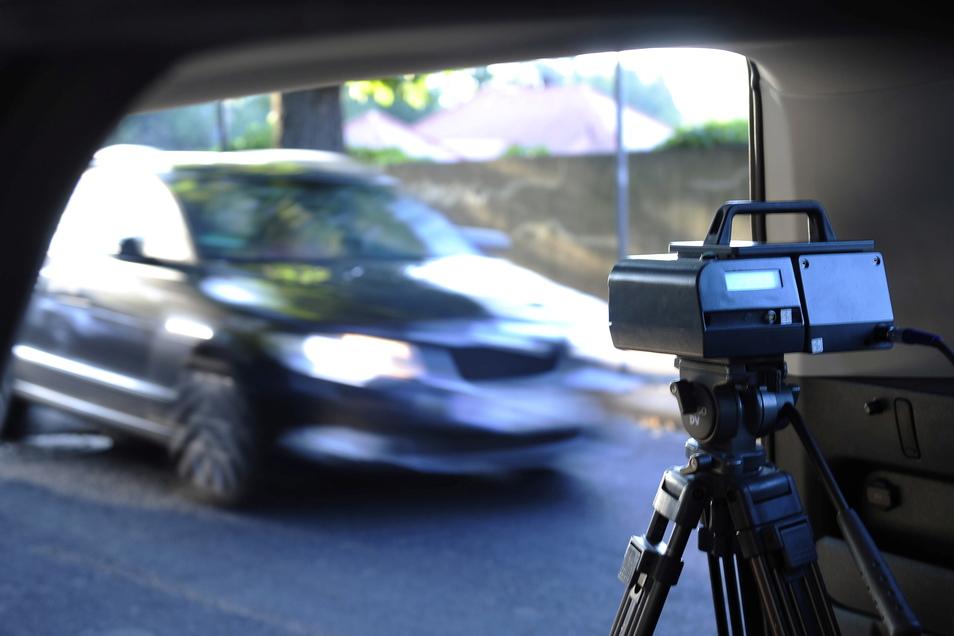 Die Polizei machte zuletzt verstärkt Geschwindigkeitskontrollen vor Schulen.