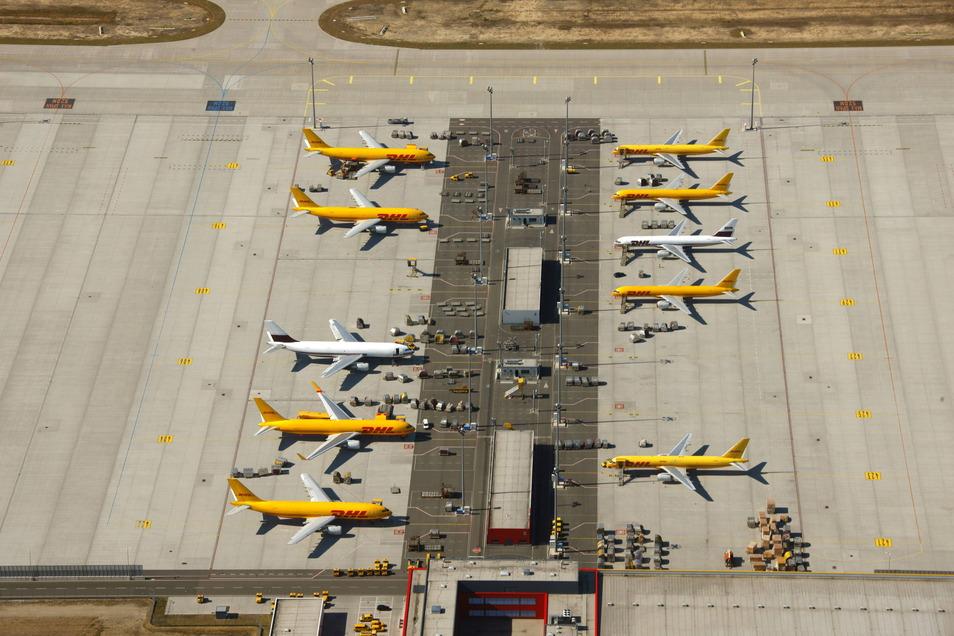 DHL braucht mehr Platz am Leipziger Flughafen.