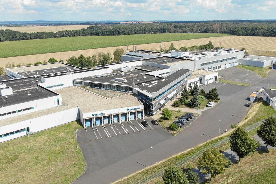 Luftaufnahme der Firma Demecan Naunhof.