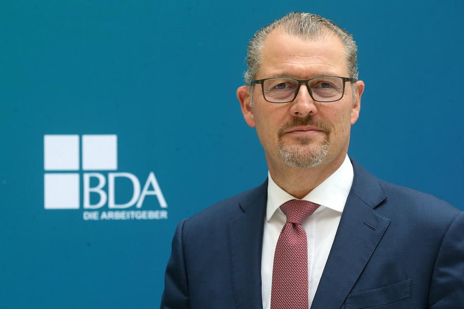 Rainer Dulger ist der Präsidenten der Bundesvereinigung der Deutschen Arbeitgeberverbände (BDA).