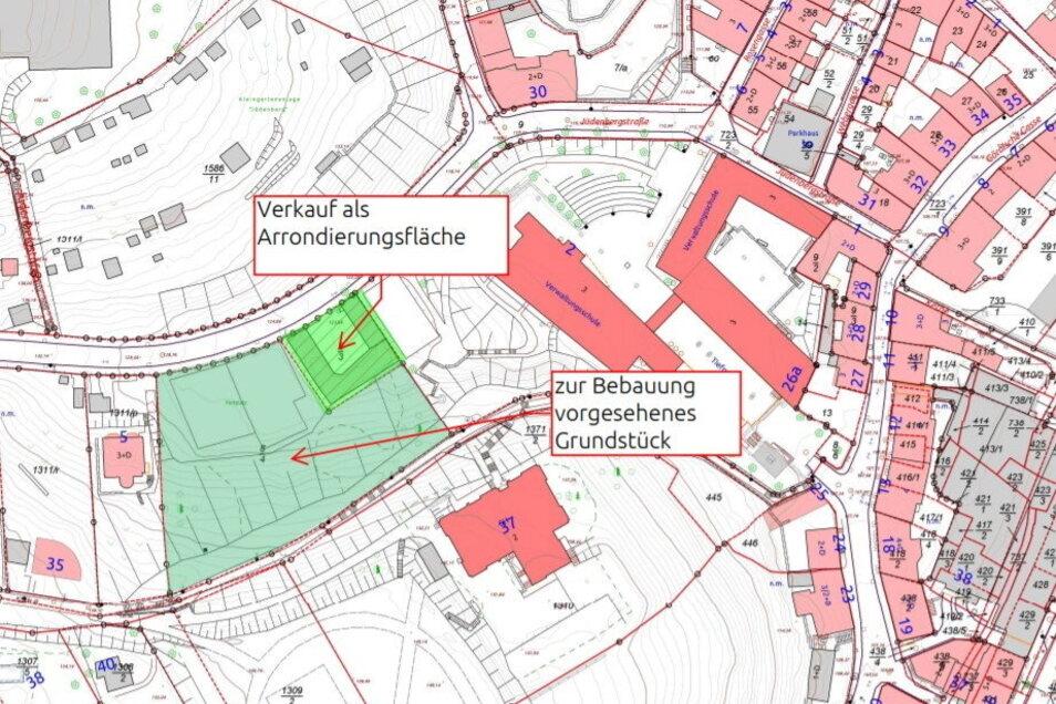 Durch den Kauf der Arrondierungsfläche kann der Eigentümer über ein zusammenhängendes Areal verfügen. Er will hier in Wohnhäuser investieren.