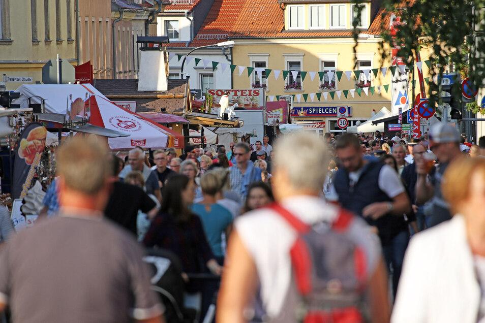 Tag der Sachsen und Stadtfest in einem - das gab es 2019 in Riesa. In diesem Jahr wäre es um ein Haar unfreiwillig zu Dopplungen gekommen.