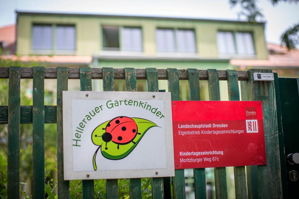 Die Kita Hellerauer Gartenkinder. Foto: Sven Ellger Foto: Sven Ellger