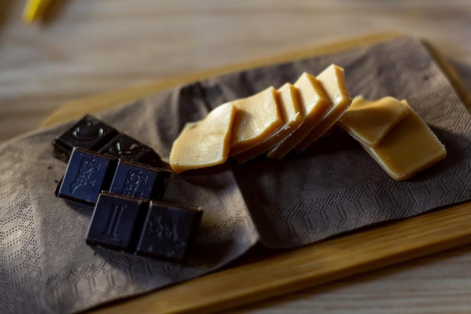 Süße Whiskyfreunde: schottische Schokolade und Karamellkonfekt.