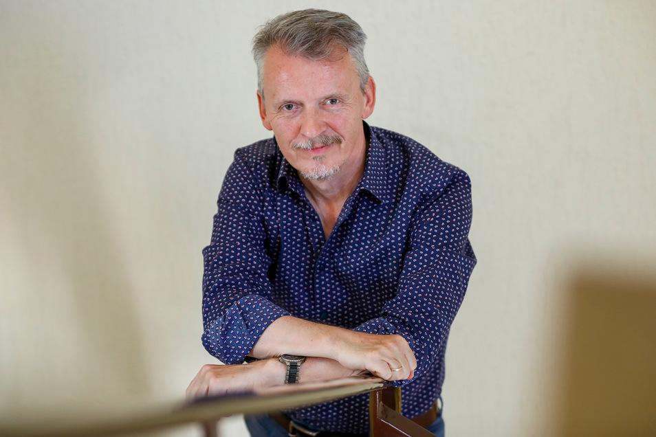 Andreas Förster (FDP) ist seit 30 Jahren Bürgermeister der Gemeinde Olbersdorf.