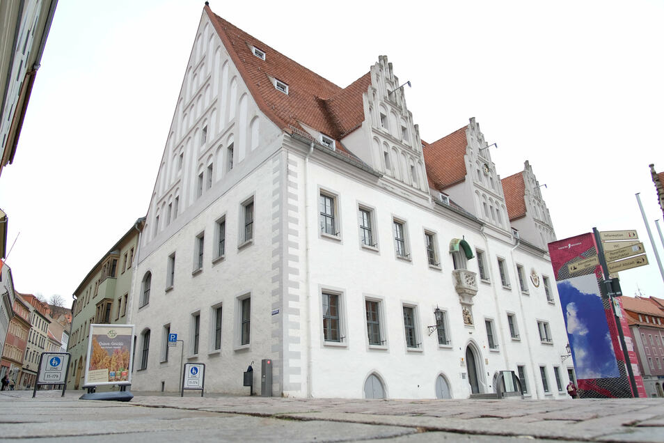 Das Meißner Rathaus.