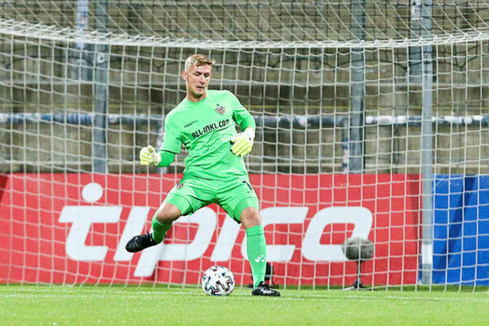 Kevin Broll leistete sich gegen Ingolstadt einige Fehlpässe - und einen entscheidenden.