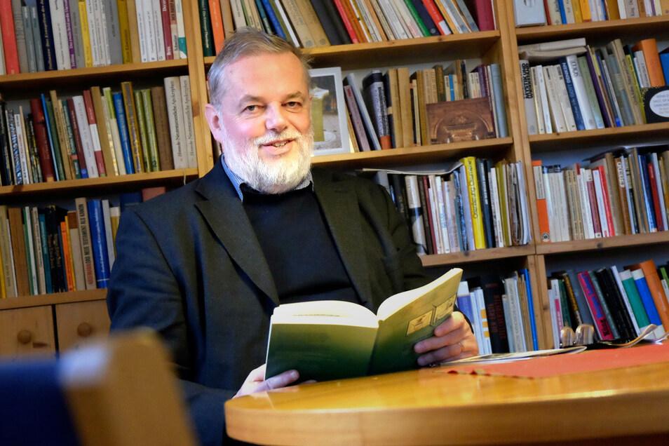 """Heiko Franke, amtierender Akademiedirektor: """"Dass das Haus leer steht, ist meine Sorge nicht."""""""