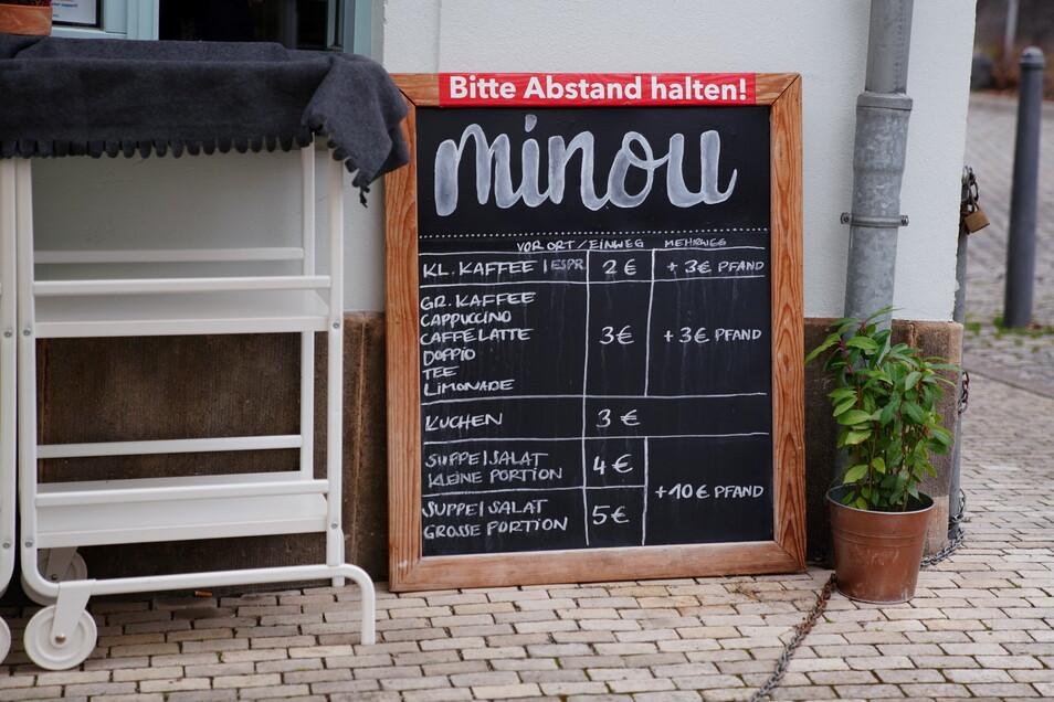 Im Minou gibt es seit 2017 Kuchen und Suppen. Bald soll das Café neu eröffnen.