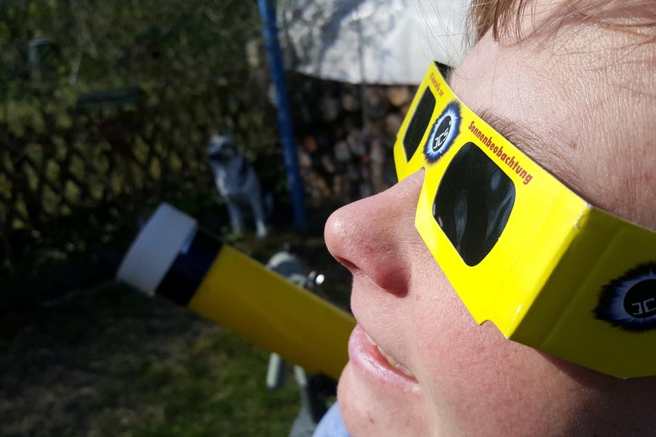 Am 10. Juni werden wieder Sonnenfinsternis-Brillen benötigt, um ein Schauspiel am Himmel beobachten zu können.
