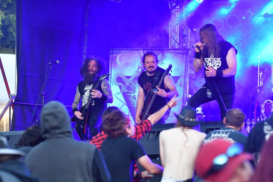 Wonnemond 2019: die Band Purgatory.