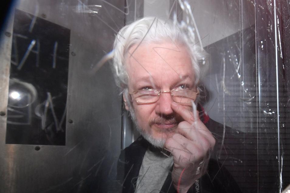 Wikileaks-Gründer Julian Assange ist von der US-Justiz in insgesamt 18 Punkten angeklagt.