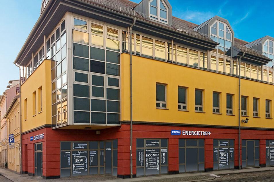 Was verbirgt sich hinter dieser Fassade in Großenhain? Am 24. September wird das Geheimnis gelüftet.