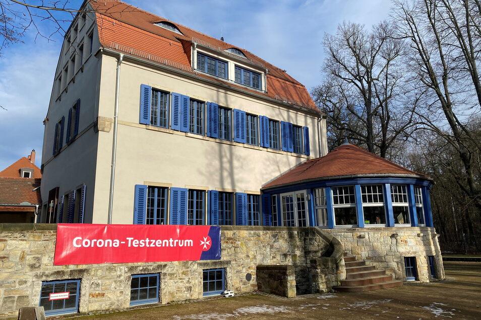 Gemeinsam mit den Johannitern haben die Deutschen Werkstätten im Januar ein Corona-Schnelltestzentrum in Hellerau eröffnet.