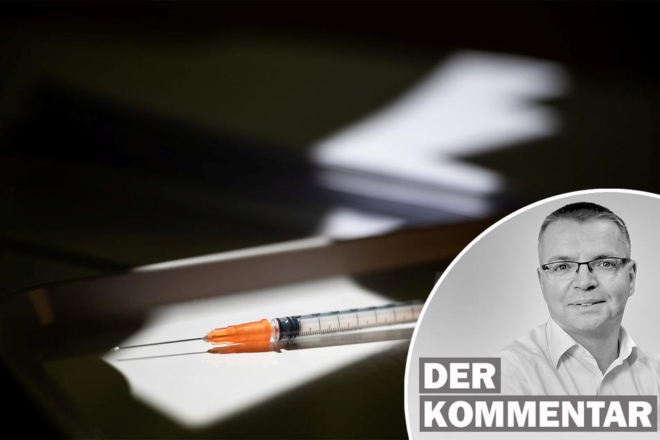 SZ-Redakteur Ulli Schönbach kommentiert den Vorschlag des Bundesgesundheitsministers, Biontech-Impfdosen für Schüler zu reservieren.