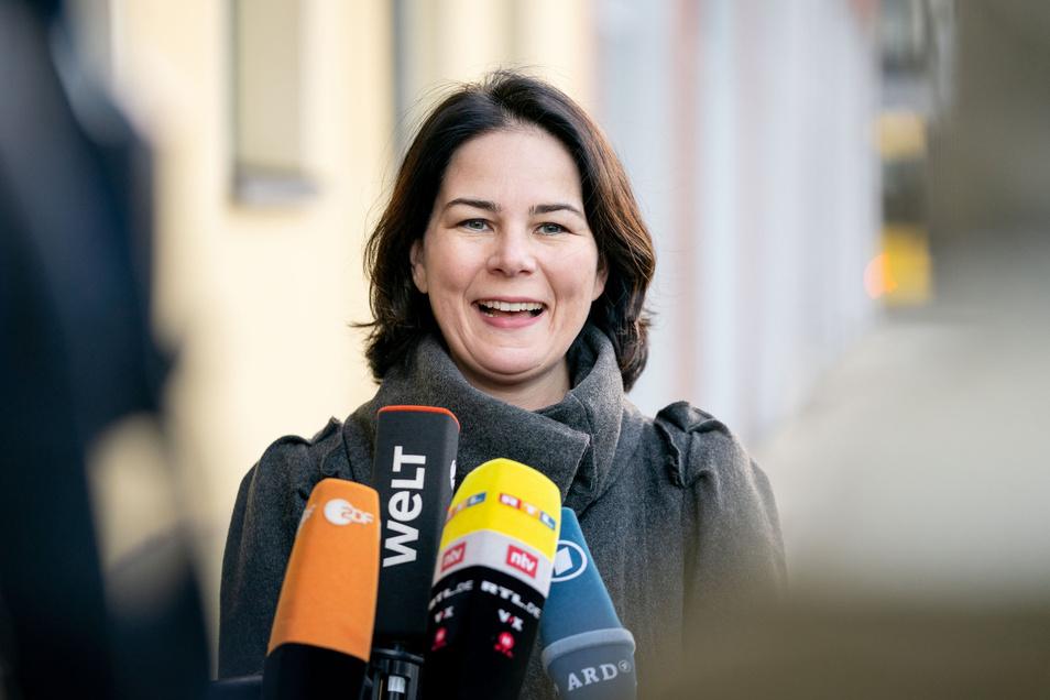 """Annalena Baerbock will im Falle ihres Wahlsiegs ein """"Klimaschutzsofortprogramm"""" durchsetzen."""