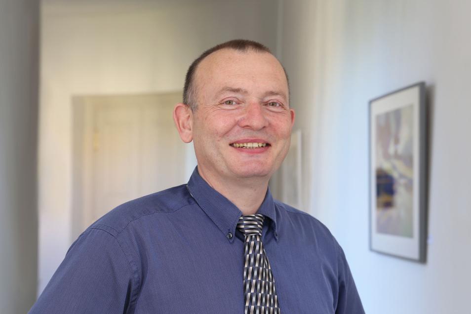 Steffen Gerlach ist seit diesem Mittwoch neuer Chefarzt für die Thoraxchirurgie am Städtischen Klinikum.
