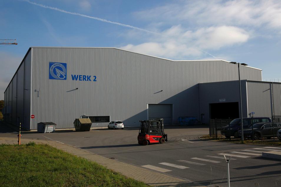 Das Werk 2 der Firma Linde + Wiemann im Elstraer Ortsteil Rauschwitz.