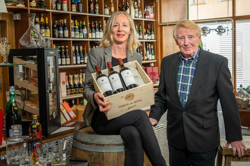 Fanny Gesine Francke führt seit einem Jahr Bischofswerdas ältestes Geschäft. Sie übernahm die Handlung für Weine und Spirituosen von ihrem Vater Friedrich Günther Francke.