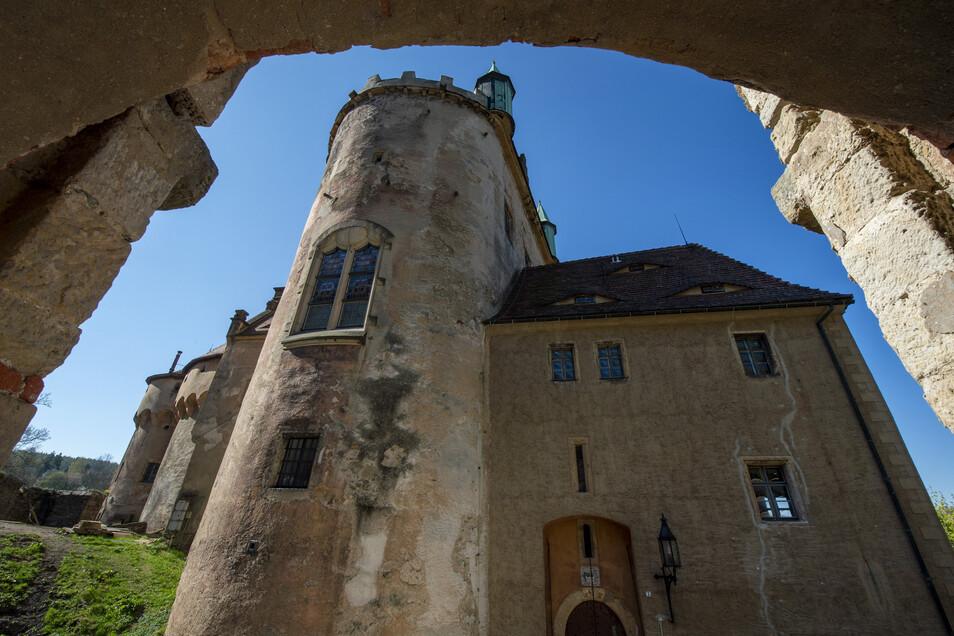 Wirkt robust, ist tatsächlich aber sehr zerbrechlich geworden: das Schloss Kuckuckstein. Ein Verein aus Liebhabern kämpft jetzt gegen den Verfall.