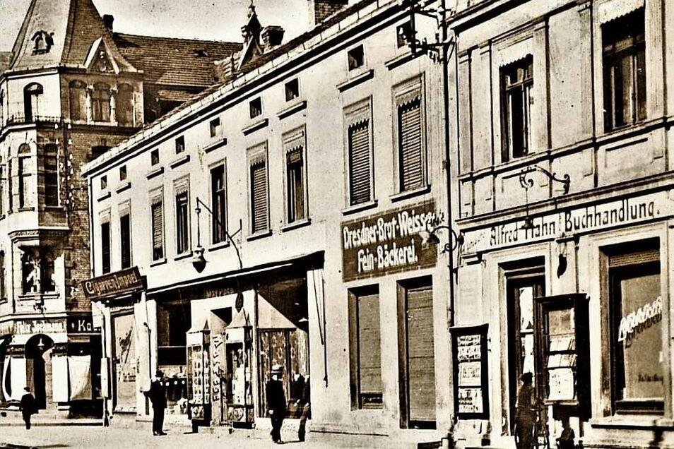 In der heutigen Muskauer Straße in Weißwasser hatte einst Max Pese sein Geschäft. Ein Stolperstein vorm Haus soll an diese jüdische Familie und ihr Schicksal erinnern.