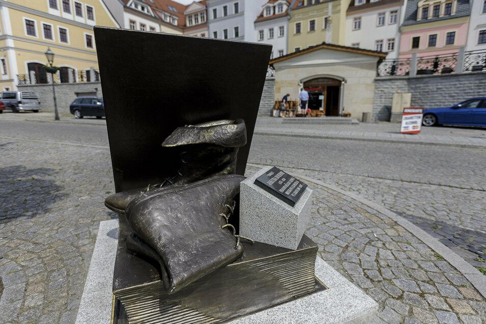 Das Jakob-Böhme-Denkmal in Zgorzelec