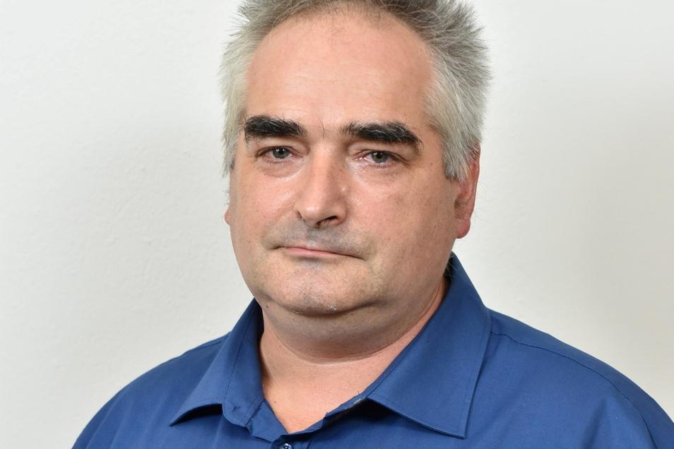 Kann sich eine Kandidatur vorstellen: AfD-Fraktionschef Tilo Bretschneider