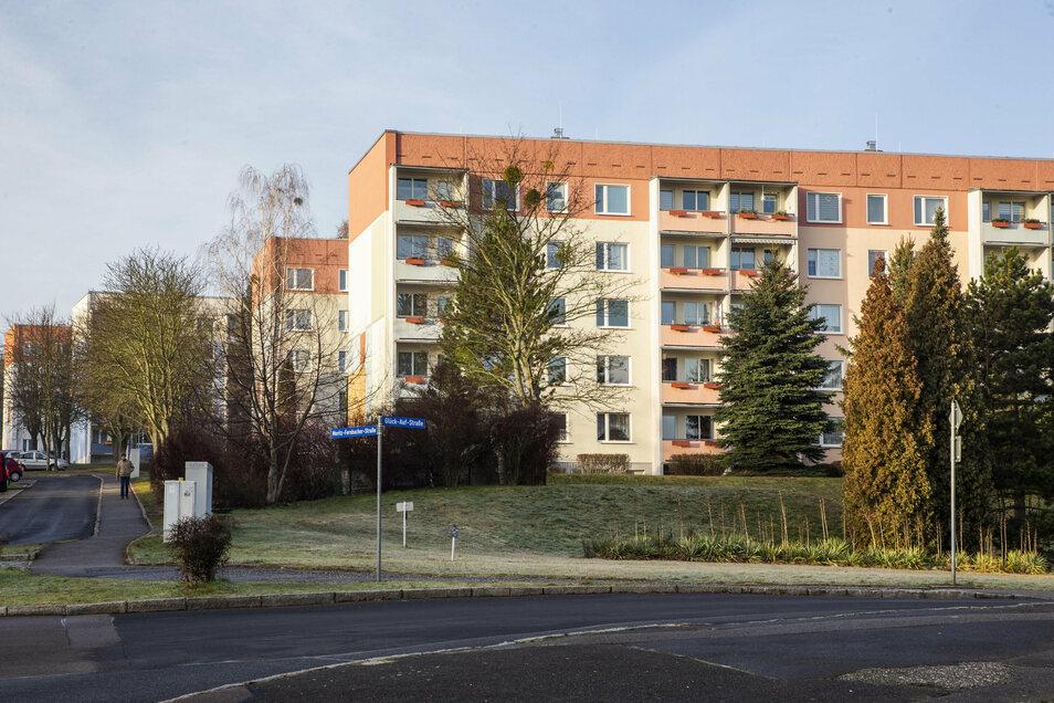 Im Plattenbaugebiet Zauckerode werden 105 Wohnungen modernisiert.