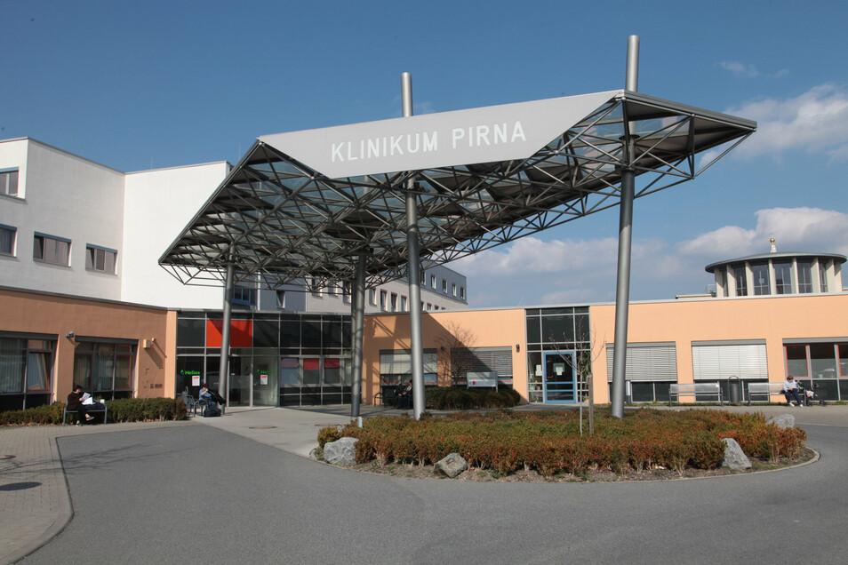 Klinikum Pirna auf dem Sonnenstein: Pro Patient ein Besucher für eine Stunde am Tag.