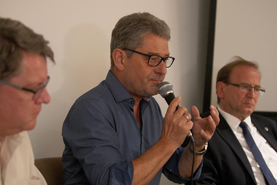 Jürgen Opitz, Klaus-Peter Hanke und Ralf Müller (v.r.) sind die Köpfe des IPO. Ihre Arbeit will die Bürgervereinigung jetzt überprüfen lassen.