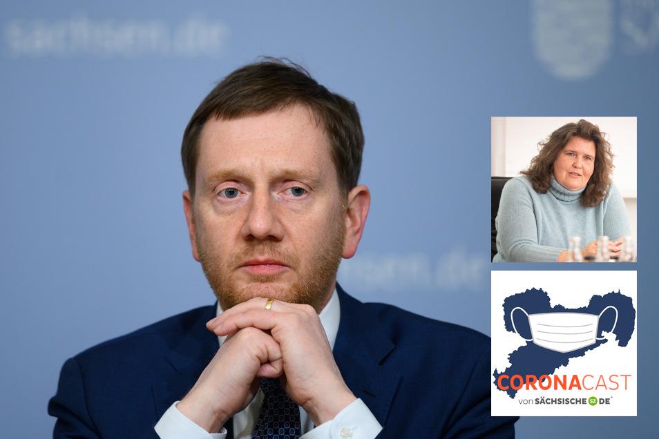 Über die heikle Russlandreise des sächsischen Regierungschefs Michael Kretschmer spricht SZ-Politikchefin Annette Binninger im CoronaCast.