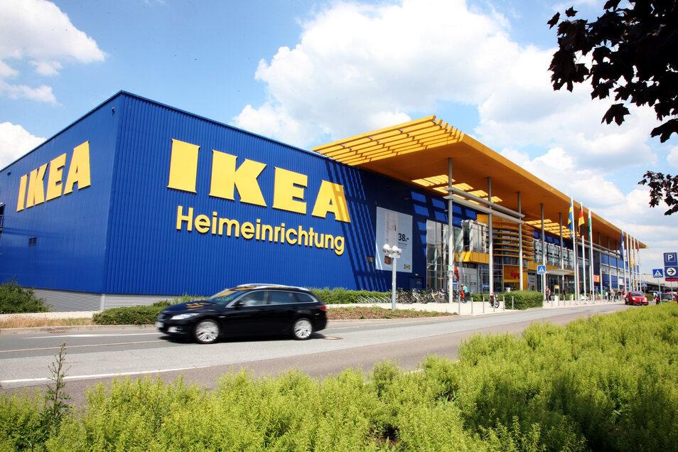 Das Ikea-Einrichtungshaus in Dresden (Symbolfoto)