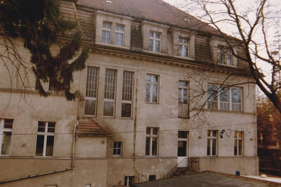 Die Rückseite der heutigen Geschäftsstelle der Malteser auf dem Görlitzer Mühlweg.