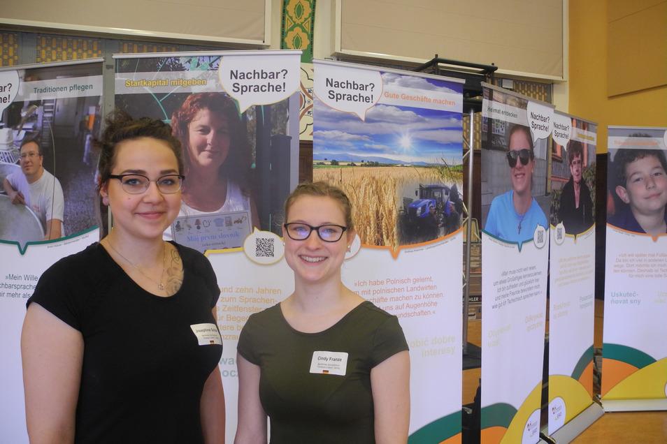 Zu den Teilnehmerinnen gehörten auch Josephine Schär und Cindy Franzke aus der Klasse SPE 17 des Beruflichen Schulzentrums Christoph Lüders in Görlitz.