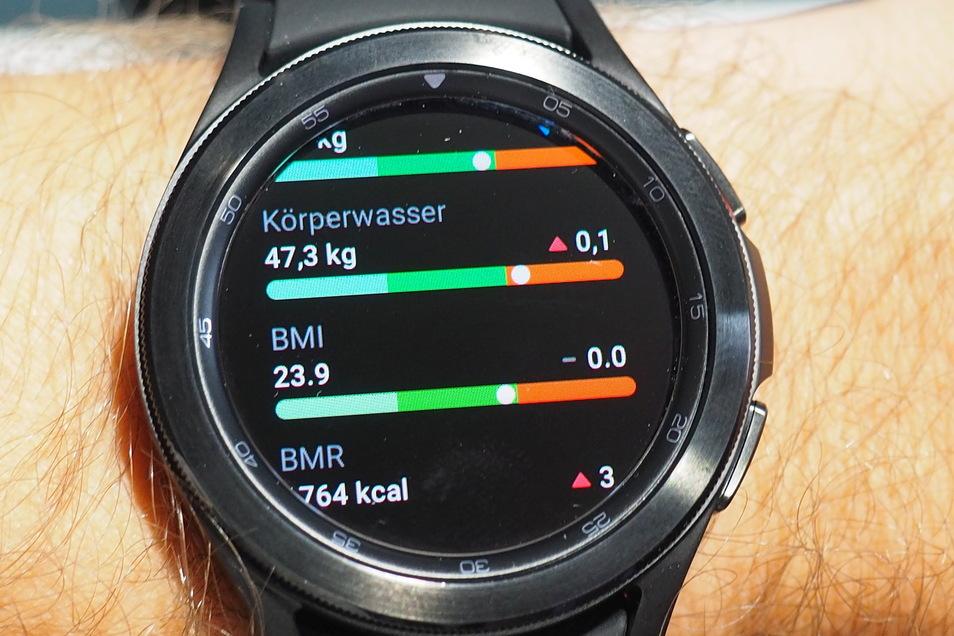 Noch mehr Kontrolle, um fit und schlanker zu werden: die Galaxy Watch 4.