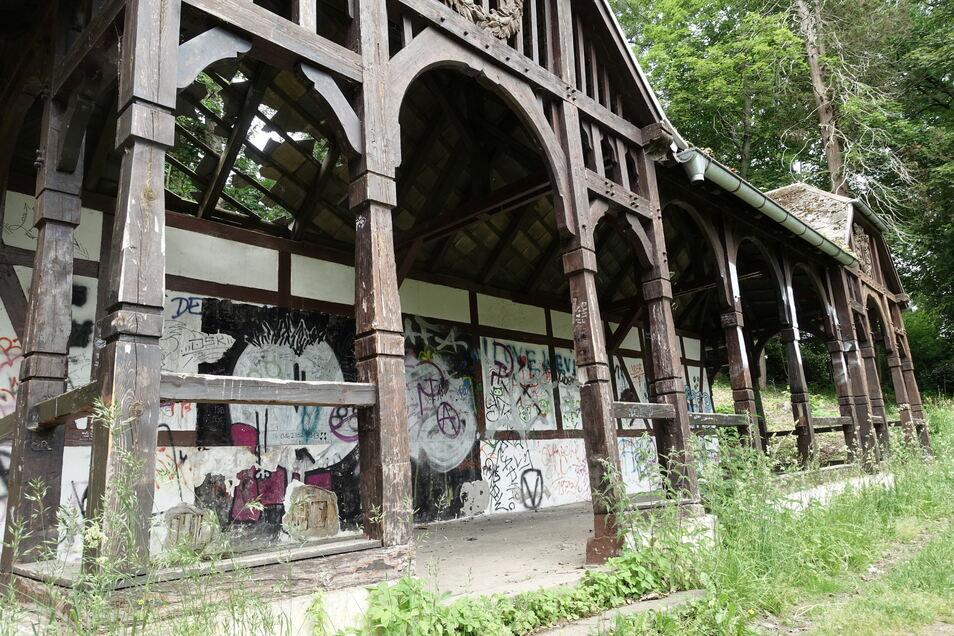 Der Musikpavillon im Bürgergarten soll saniert und eventuell erweitert werden.