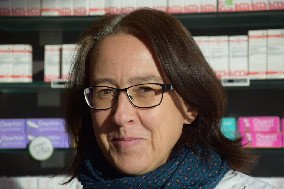Doreen Turba aus der StadtApotheke auf der Prager Straße ist Expertin auf dem Gebiet der Naturheilkunde und Homoöpathie.